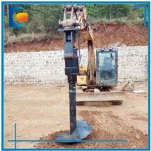 德创WJD25000牛米挖掘机改装螺旋钻动力头