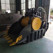 新型挖掘机鄂式破碎铲斗生产厂家