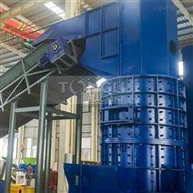 大型铜铝散热片分离机工艺流程