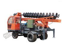 工程用輪式螺旋8米大口徑打樁機械