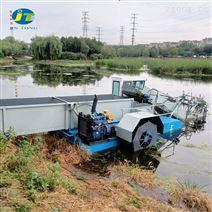 打捞水生植物垃圾运输船 割草船