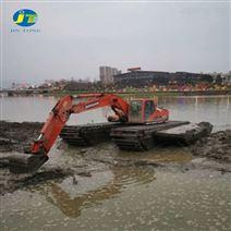 水路两栖挖掘机